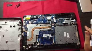 Como desensamblar la Notebook: HP 14- ac136la.