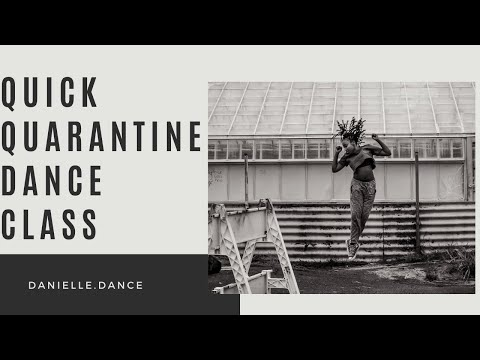 Quick Quarantine Dance Class | Cleveland Arts and Social Sciences Academy
