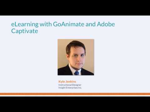 Ambient Video for eLearning with GoAnimate & Captivate