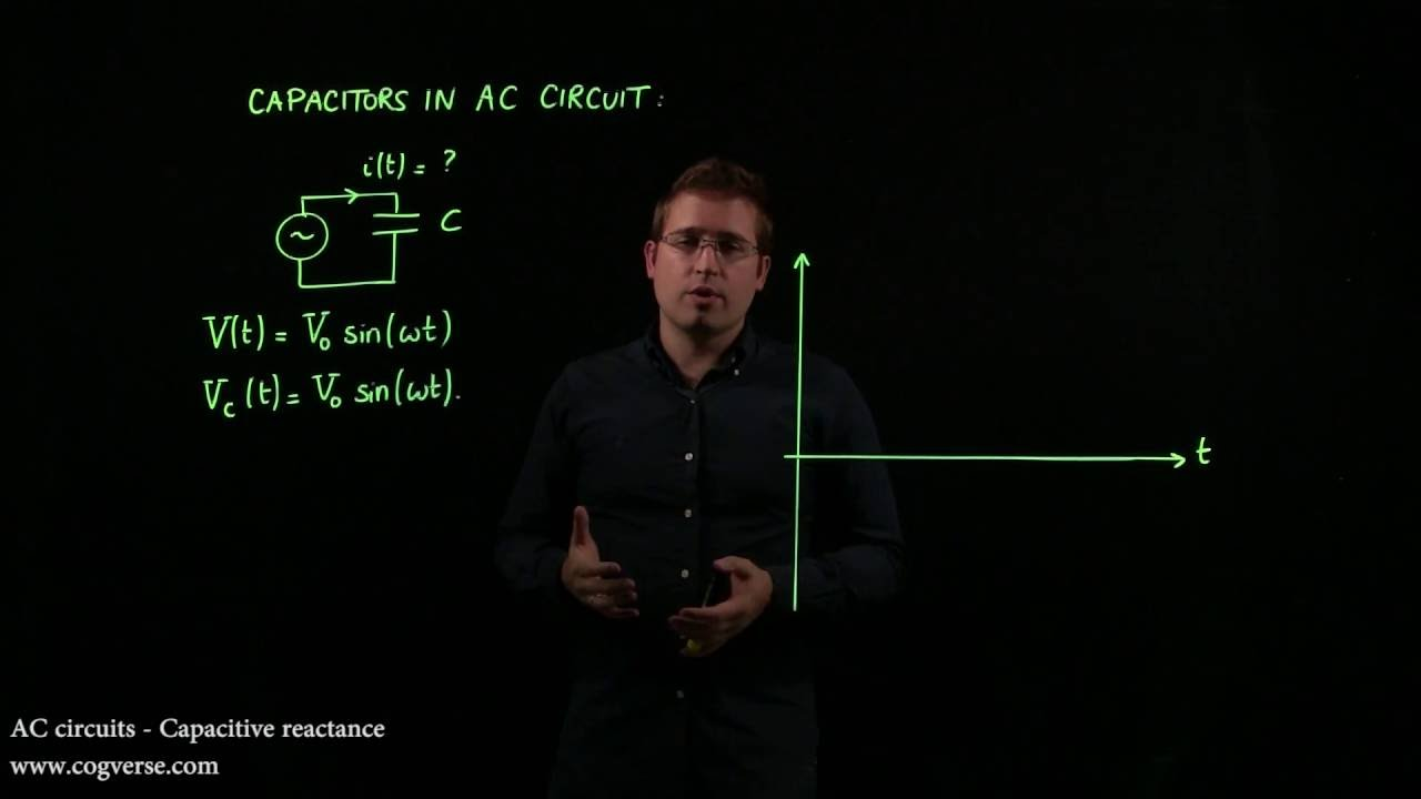 25 Ac Circuits Capacitive Reactance Youtube The And Circuit Impedance Is Calculated As
