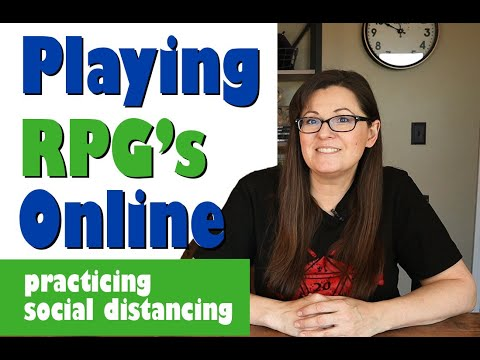 SOCIAL DISTANCING: Ways To Play Dungeons & Dragons And Other RPG's Online!