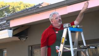 This video from Bunnings Warehouse will show you how to put up a sturdy pergola, from digging the holes, to framing the structure