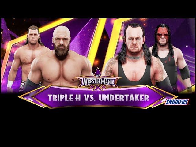 [Super Show-Down] Undertaker w. Kane vs Triple H w. Shawn Michaels | WWE 2k19 Orakel #009