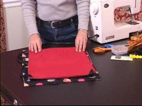 How to Make a Backpack for Kids : How to Cut Out Material for Backpack