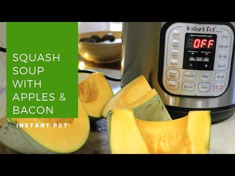 Cook with Me || Instant Pot Squash Soup (Whole30)
