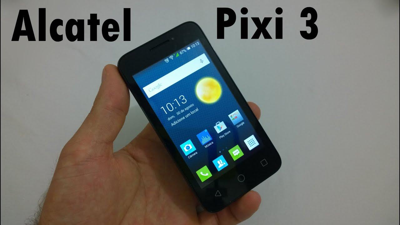 Alcatel Pixi 3 (4) - Análise Completa Será que vale apena?