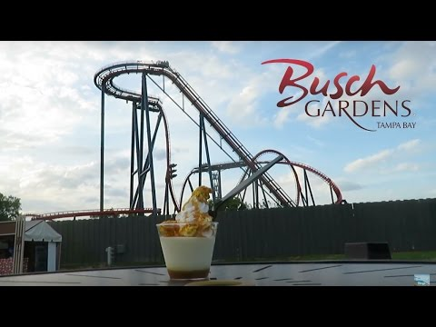 Exploring the Busch Gardens Tampa 2017 Food & Wine Festival!