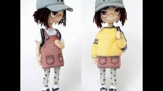 Вязаные куклы для вдохновения Юлии Барановой