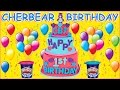 ~ Happy Birthday Cher Bear Toys ~ HUGE Play Doh Surprise Birthday Cake