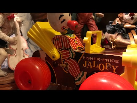Clowning Around Box Opening! 1965 Fisher Price Clown Jalopy