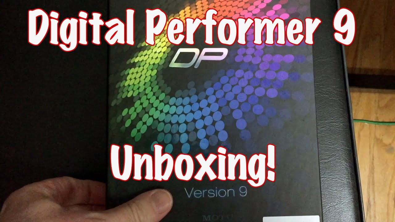 digital performer 9 unboxing awesome youtube rh youtube com motu digital performer manual motu digital performer manual