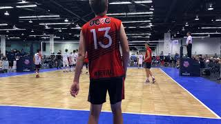 AAU WCC 14's Open FINAL: OCVC vs BBVC Game 1