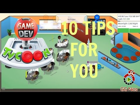 10 Tips When Playing Game Dev Tycoon