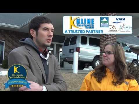 Video: Youth Pastor Aaron shares his van leasing success story   www.klinevan.com   816-554-3344