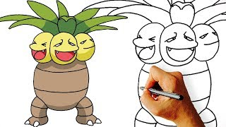 How to Draw Exeggutor Step by Step from Pokemon