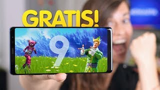 Galaxy Note 9 ¡¡GRATIS!! fortnite incluído thumbnail