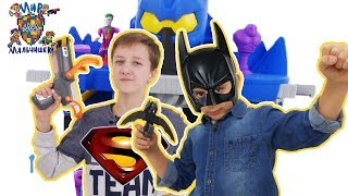 ЯРИК и КИРИЛЛ во вселенных DC! Супергерои Лиги Справедливости от МАТТЕЛ!