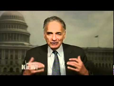 Ralph Nader: Solution to Debt Crisis is to End Corporate Welfare and Corporate Tax Loopholes