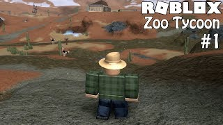 ROBLOX: Zoo Tycoon | Episode 1- Welcome to the Zoo!