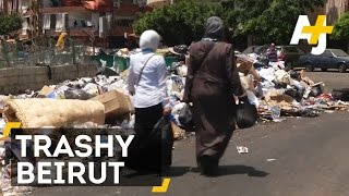 Trash Is Piling Up In Beirut, Lebanon ... And There
