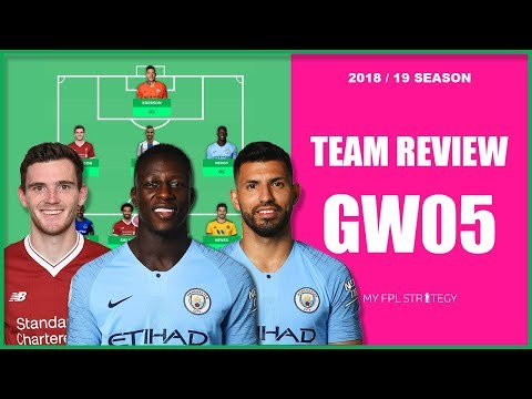 TEAM REVIEW – GAMEWEEK 5 TRANSFER THOUGHTS | Fantasy Premier League 2018/19