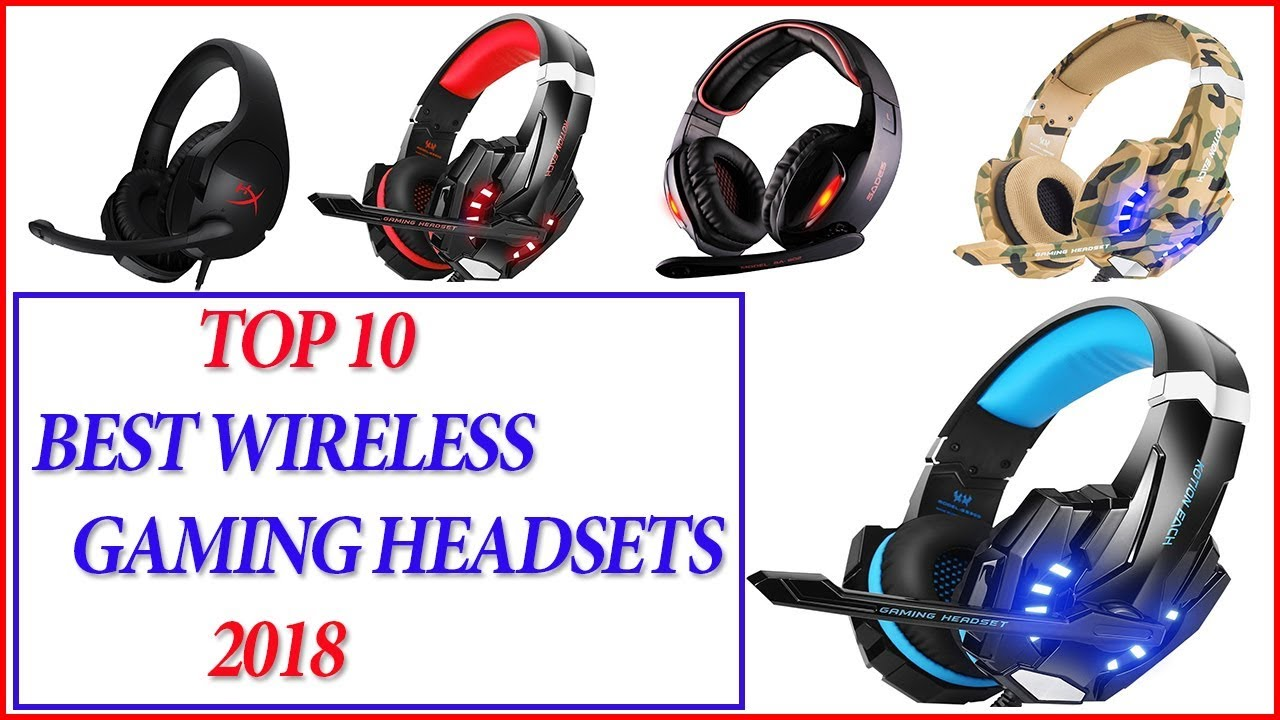best wireless gaming headset 2018 top 10 best gaming. Black Bedroom Furniture Sets. Home Design Ideas