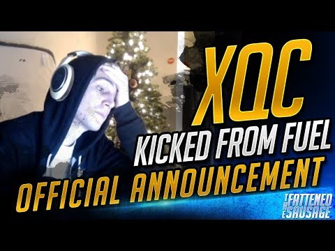 XQC KICKED FROM DALLAS FUEL! His Live Reaction + Official Announcement