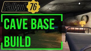 Fallout 76 - How to Build a Cave Base (Cave Settlement Location)