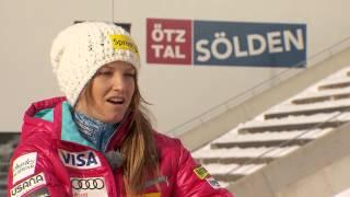 Julia Mancuso Interview - FIS Ski-Weltcup Sölden (engl. Version)