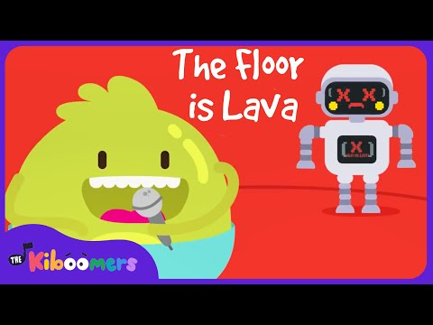 The Floor Is Lava   The Kiboomers    Kids Dance Songs   Dance Music   Kids Songs   Kindergarten