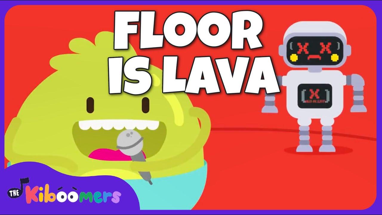 Download The Floor Is Lava   The Kiboomers    Kids Dance Songs   Dance Music   Kids Songs   Kindergarten