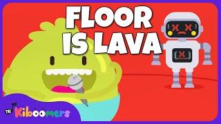 The Floor Is Lava | The Kiboomers | Kids Dance Songs | Dance Music | Kids Songs | Kindergarten