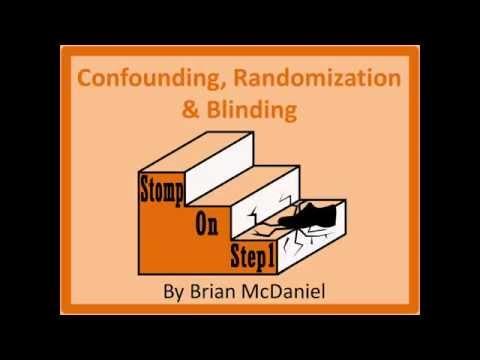 Confounding Randomization & Blinding