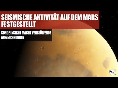 Seismische Aktivität auf dem Mars festgestellt - Verblüffende Aufzeichnungen