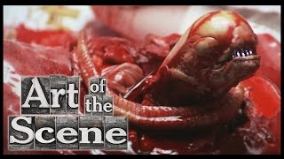 Alien Chestburster - Art of The Scene