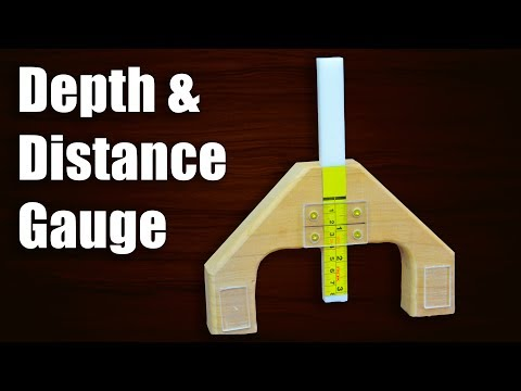 Make a Versatile Depth Gauge Jig | Distance Gauge Jig