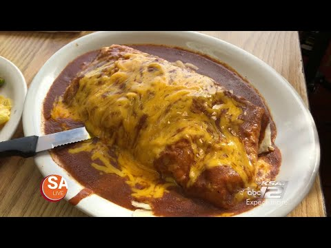 HUGE, GRANDE BURRITO FROM RUTHIE'S MEXICAN RESTUARANT IN SAN ANTONIO, TEXAS | ELDER EATS | SA LIVE