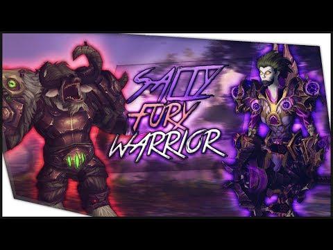 BFA Shadow Priest PvP - SALTY FURY WARRIOR CANT KILL ME