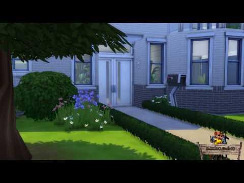 Bakies The Sims 4 Custom Content: 2 - Layered Brick Wallpaper