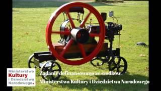 Silnik Machczyński w zbiorach Muzeum Rolnictwa w Ciechanowcu