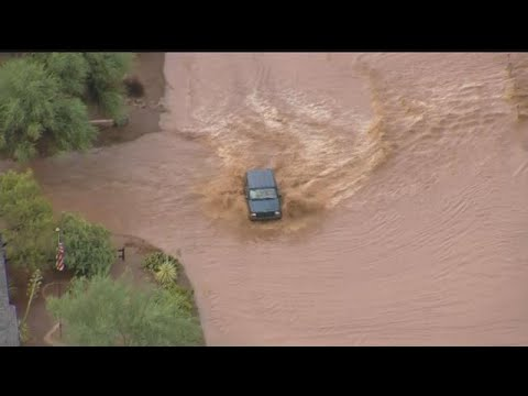 Image result for car crossing flash flood az