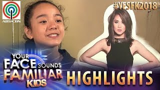 YFSF Kids 2018 Highlights: Sheena Belarmino as Sarah Geronimo | Week 1 Mentoring Session