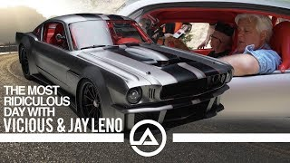 Crazy Day with 1000 hp Vicious Mustang and Jay Leno