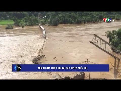 Tổng hợp tình hình mưa lũ tại Thanh Hóa
