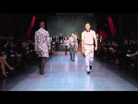 Dolce & Gabbana Winter 2016 Mens Fashion Show Milan Fashion Week HD
