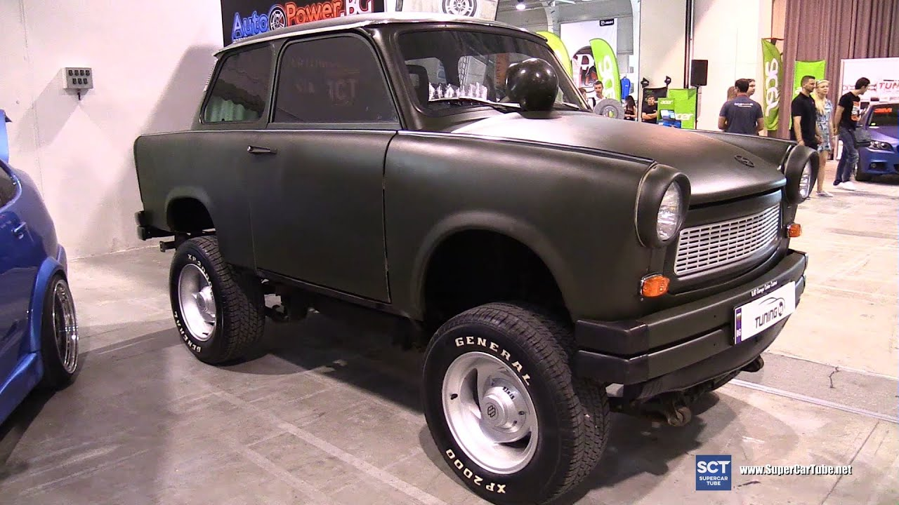 trabant 601 tuning exterior walkaround tuning show 2016 sofia youtube. Black Bedroom Furniture Sets. Home Design Ideas