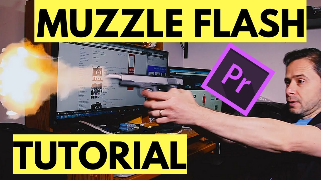how to make a realistic muzzle flash after effects