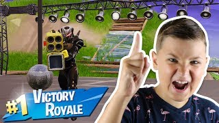 EASY ELIMINATIONS in FORTNITE DISCO DOMINATION VICTORY ROYALE