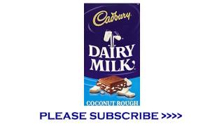 Cadbury Dairy Milk Coconut Rough Chocolate Bar 220g
