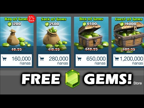 Legit Way To Get Gems for Clash of Clans! (Working) *Appnana*